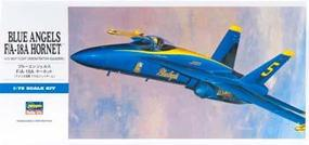 Hasegawa F/A18A Blue Angels Aircraft Plastic Model Airplane Kit 1/72 Scale #00440