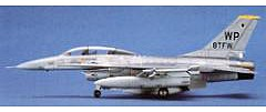 Hasegawa F16B Plus Fighting Falcon Aircraft Plastic Model Airplane Kit 1/72 Scale #00444
