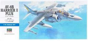 Hasegawa AV-8B Harrier II Plus Plastic Model Airplane Kit 1/72 Scale #00454