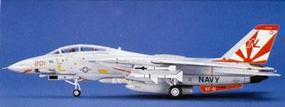 Hasegawa F-14A Tomcat (High Visibility) Plastic Model Airplane Kit 1/72 Scale #00533