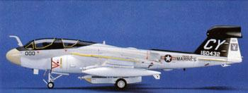 Hasegawa EA-6B Prowler High -- Plastic Model Airplane Kit -- 1/72 Scale -- #00538