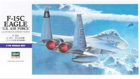 Hasegawa U.S. Air Force F-15C Eagle Plastic Model Airplane Kit 1/72 Scale #00543