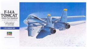Hasegawa F-14A Tomcat (Atlantic F.S.) Plastic Model Airplane Kit 1/72 Scale #00544