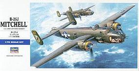Hasegawa B-25J Mitchell Plastic Model Airplane Kit 1/72 Scale #00546