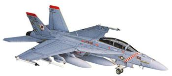 Hasegawa F/A-18F Super Hornet Plastic Model Airplane Kit 1/72 Scale #00548