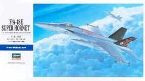F/A-18E Super Hornet Plastic Model Airplane Kit 1/72 Scale #00549
