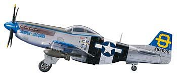 Hasegawa P-51D Mustang Plastic Model Airplane Kit 1/72 Scale #01455