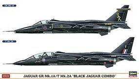 Hasegawa Jaguar GR Mk 2A Black Combo (2) Limited Ed. Plastic Model Airplane Kit 1/72 Scale #02008