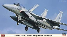 Hasegawa F15J Eagle MSIP Configuration II Plastic Model Airplane Kit 1/72 Scale #02100