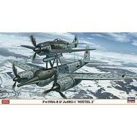 Hasegawa FW190A-8/JU88G-1 Mistel 2 Combo Limited Plastic Model Airplane 1/72 Scale #02113