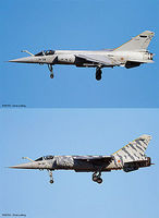 Hasegawa Mirage F.1C Spanish Air Force (2 Kits) Plastic Model Airplane Kit 1/72 Scale #02204