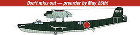 Hasegawa Kawanishi H6K5 TP 97 Flying Boat Mdl 23 rdr Plastic Model Airplane Kit 1/72 Scale #02208