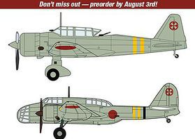 Hasegawa KI-51 Type 99 Assault and Bomber 2 Kits Plastic Model Airplane Kit 1/72 Scale #02211