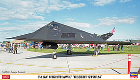 Hasegawa F-117A Nighthawk Desert Storm Plastic Model Airplane Kit 1/72 Scale #02256