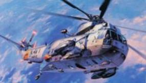 Hasegawa SH3H Sea King Helicopter Plastic Model Helicopter 1/48 Scale #07201