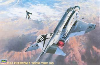 Hasegawa F-4J Phantom II One Piece Canopy -- Plastic Model Airplane Kit -- 1/48 Scale -- #07206