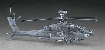 Hasegawa AH-64D Apache Longbow -- Plastic Model Helicopter Kit -- 1/48 Scale -- #07223