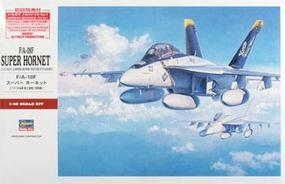 Hasegawa F/A-18F Super Hornet Plastic Model Airplane Kit 1/48 Scale #07238