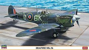 Hasegawa Seafire Mk 1B Royal Navy Fighter (Ltd Edition) Plastic Model Airplane Kit 1/48 Scale #07309
