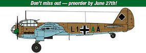 Hasegawa Junkers Ju88A-10 (A-5 Trop) North Africa Plastic Model Airplane Kit 1/48 Scale #07440