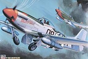 Hasegawa P51D Mustang Fighter Plastic Model Airplane Kit 1/32 Scale #08055