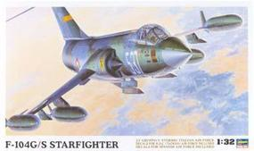 Hasegawa F104G/S World Starfighter Plastic Model Airplane Kit 1/32 Scale #08061