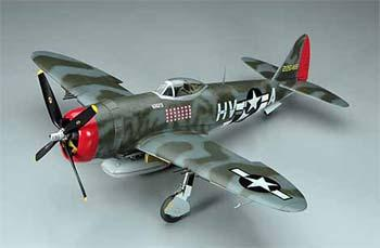 Hasegawa P47D USAAF Fighter -- Plastic Model Airplane Kit -- 1/32 Scale -- #08077