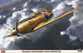 Hasegawa J2M2 Raiden Jack Prototype IJN Aircraft Plastic Model Airplane Kit 1/32 Scale #08227