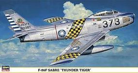 Hasegawa F-86F Sabre Thunder Tigers Limited Edition Plastic Model Airplane 1/48 Scale #09349