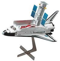 Hasegawa SPACE SHUTTLE ORBITER & HUBBLE Plastic Model Space Shuttle Kit 1/200 Scale #10676