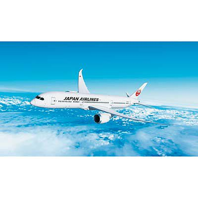 Hasegawa JAL B787-9 -- Plastic Model Airplane Kit -- 1/200 Scale -- #10722