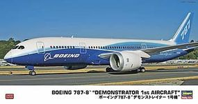 Hasegawa B787-8 Demonstrator Plastic Model Airplane Kit 1/200 Scale #10807