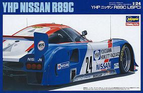 Hasegawa YHP Nissan R89C Plastic Model Car Kit 1/24 Scale #20244