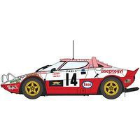 Hasegawa Lancia Stratos HF 1977 Monte Carlo Rally Limited Plastic Model Car Kit 1/24 Scale #20268