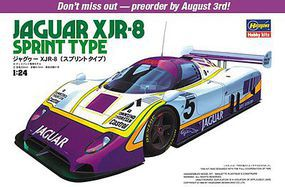Hasegawa Jaguar XJR-8 Sprint Type Plastic Model Car Kit 1/24 Scale #20281