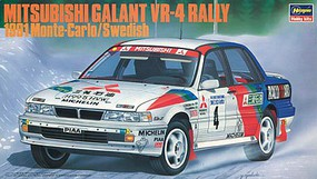 Hasegawa 91 Galant VR4 Rally Plastic Model Car Truck Vehicle Plastic Model Car Kit 1/24 Scale #20288