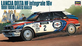 Hasegawa Lancia Delta HF Intergrale 16V 91 1000 Lake Plastic Model Car Kit 1/24 Scale #20289