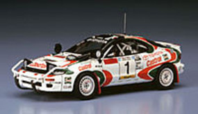 Hasegawa Toyota Celica Turbo 4WD 1993 Rally Winner Plastic Model Car Kit 1/24 Scale #20309