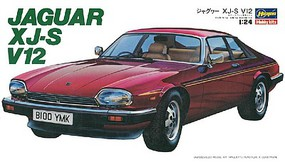 Hasegawa Jaguar XJ-S V12 Plastic Model Car Kit 1/24 Scale #20321