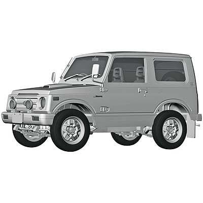 Hasegawa Suzuki Jimny Jaii 5 Plastic Model Car Kit 1 24 Scale 21122