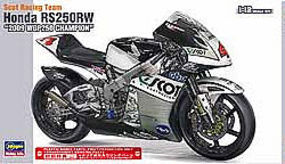 Hasegawa Scot Racing Team Honda 250 09 WGP250 Plastic Model Motorcycle Kit 1/12 Scale #21501