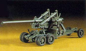 Hasegawa M2 155mm Gun Long Tom -- Plastic Model Military Artillery Kit -- 1/72 Scale -- #31102