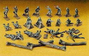 Hasegawa German Infantry Attack Group Plastic Model Military Figure 1/72 Scale #31130