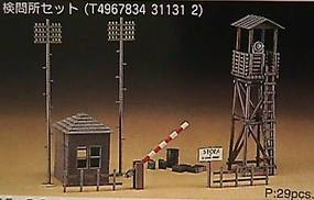 Hasegawa Check Point Set Plastic Model Military Diorama 1/72 Scale #31131