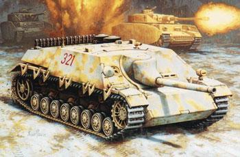 Hasegawa SdKfz 162 Jagdpanzer IV L/48 Late Tank -- Plastic Model Tank Kit -- 1/72 Scale -- #31151