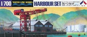 Hasegawa Harbour Set Plastic Model Harbour Set Kit 1/700 Scale #31510