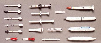 Hasegawa U.S. Aircraft Weapons C Plastic Model Military Weapons 1/48 Scale #36003