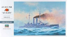 Hasegawa IJN Battleship Mikasa Battle of Japan Sea Plastic ModelBattleship Kit 1/350 Scale #40021