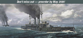 Hasegawa Japanese Navy Battleship Mikasa Plastic Model Military Ship Kit 1/700 Scale #49151