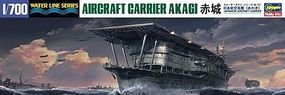 Hasegawa Akagi Japan Aircraft Carrier Plastic Model Military Ship 1/700 Scale #49227